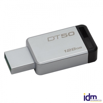 Kingston DataTraveler DT50 128GB USB 3.0 Negro