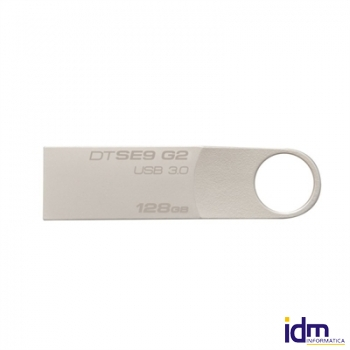 Kingston DataTraveler DTSE9G2/128GB USB 3.0 plata