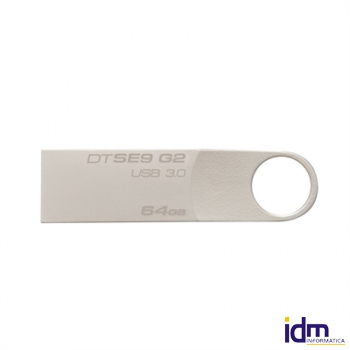 Kingston DataTraveler DTSE9G2/64GB USB 3.0 plata