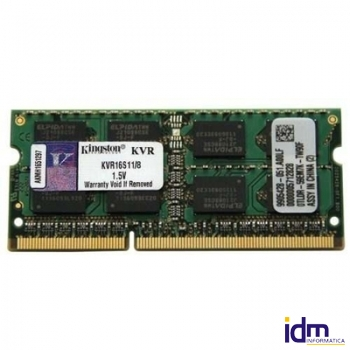 Kingston KVR16S11/8 SoDim DDR3 8GB 1600MHz