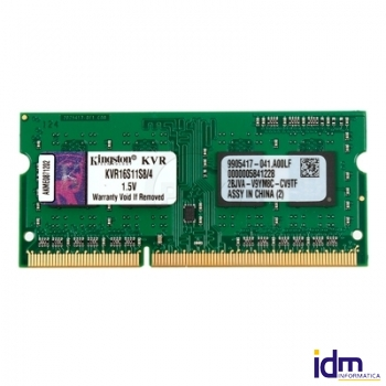 Kingston KVR16S11S8/4 SoDim DDR3 4GB 1600MHz SR