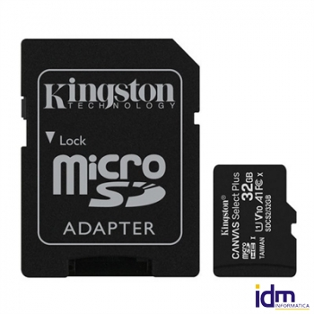 Kingston SDCS2/32GB micro SD XC clase 10 32GB c/a