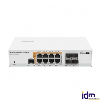 Mikrotik CRS112-8P-4S-IN Switch 8xGB 4xSFP L5