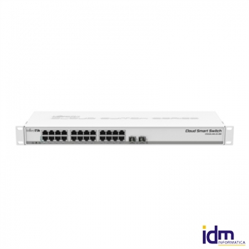 Mikrotik CSS326-24G-2S+RM Switch 24G Et 2xSFP+