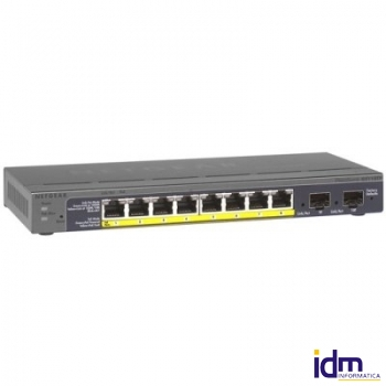 Netgear GS110TP Switch 8p. 10/100/1000 PoE + 2xSFP