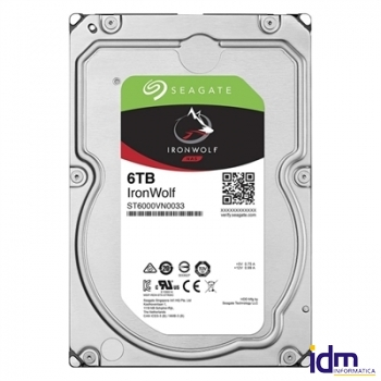 Seagate ST6000VN0033 IRONWOLF NAS 6T 3.5 256M SAT3