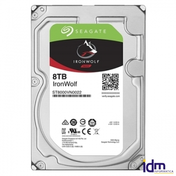 Seagate ST8000VN0022 IRONWOLF NAS 8T 3.5 256M SAT3