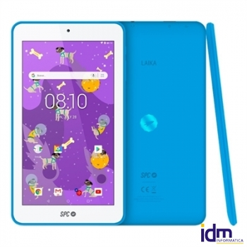 SPC Tablet 7 pulgadas  QC Laika 1GB RAM 8GB Interna Azul