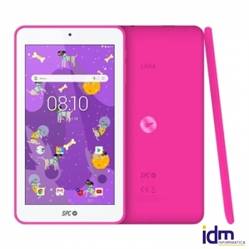SPC Tablet 7 pulgadas  QC Laika 1GB RAM 8GB Interna Rosa