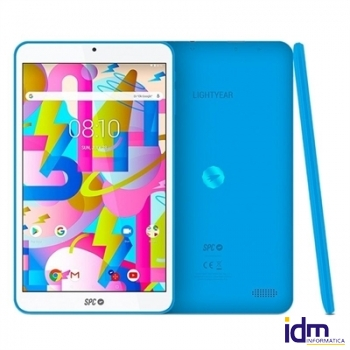 SPC Tablet  8 pulgadas  IPS HD QC 2GB RAM 16GB Interna Azul