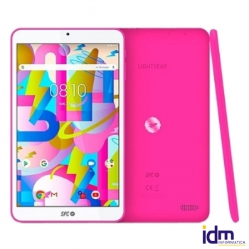 SPC Tablet  8 pulgadas  IPS HD QC 2GB RAM 16GB Interna Rosa