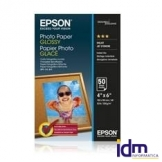 PAPEL FOTO EPSON S042547 GLOSSY 10X15 50 HOJAS