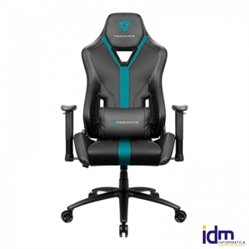 Thunderx3 Silla Gaming yc3 cyan black hi-tech