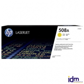 TONER AMARILLO HP CF362A JETINTELLIGENCE - N�508A - 5000 P�GINAS - COMPATIBLE CON M577DN / M577F / M