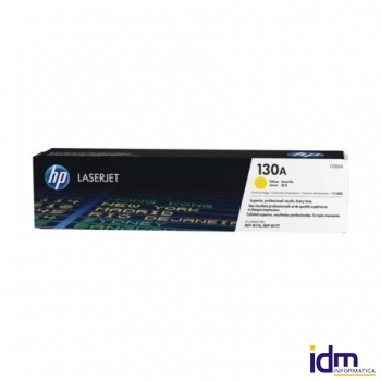 TONER AMARILLO HP N�130A - 1000 P�GINAS - COMPATIBLE CON COLOR LASERJET PRO MFP M176N / MFP M177FW