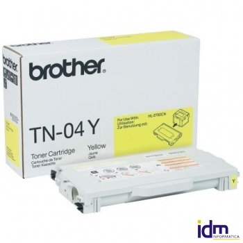 TONER BROTHER TN-04 6600 P�GINAS AMARILLO