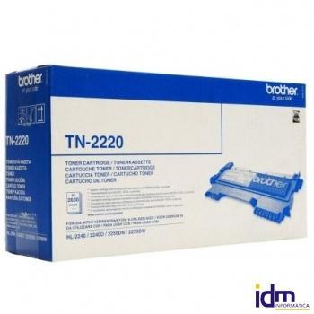 TONER BROTHER TN-2220 2600 P�GINAS NEGRO