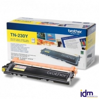 TONER BROTHER TN-230 1400 P�GINAS AMARILLO