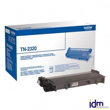 TONER BROTHER TN-2320 2600 P�GINAS NEGRO