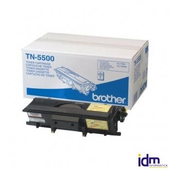 TONER BROTHER TN-5500 12000 P�GINAS NEGRO