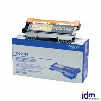 TONER BROTHER TN2010 NEGRO L�SER 1000 P�GINAS