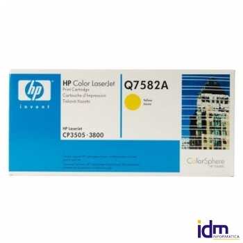 TONER HP COLOR AMARILLO PARA LASERJET COLOR 3800 6000 P�GINAS