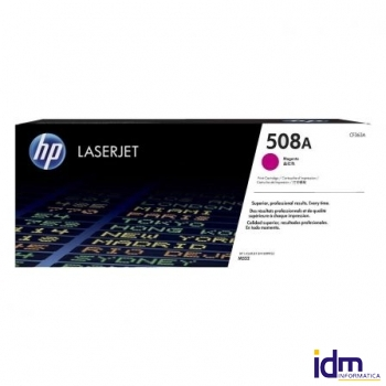 TONER MAGENTA HP CF363A JETINTELLIGENCE - N�508A - 5000 P�GINAS - COMPATIBLE CON M577DN / M577F / M5