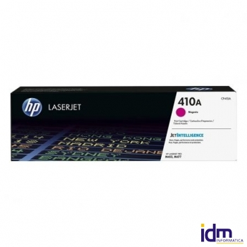 TONER MAGENTA HP CF413A JETINTELLIGENCE - N�410A - 2300 P�GINAS - COMPATIBLE CON LASERJET M452DN/NW