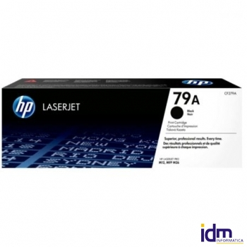 TONER NEGRO HP CF279A - N� 79A - 1000 P�GINAS - COMPATIBLE CON LASERJET PRO M12 / MFP M26