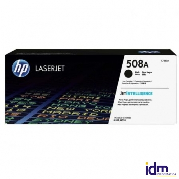 TONER NEGRO HP CF360A - JETINTELLIGENCE - N�508A - 6000 P�GINAS - COMPATIBLE CON M577DN / M577F / M5