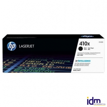 TONER NEGRO HP CF410X - N�410X - 6500 P�GINAS - COMPATIBLE CON LASERJET M452DN/NW / M477FDN/FDW/FNW