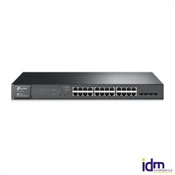 TP-LINK TL-SG2424P Switch 24xGB PoE 4xSFP