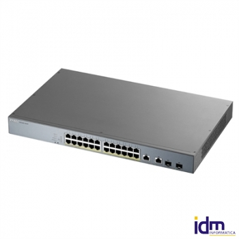 ZyXEL GS1350-26HP Switch 24xGB PoE 2xSFP 375W